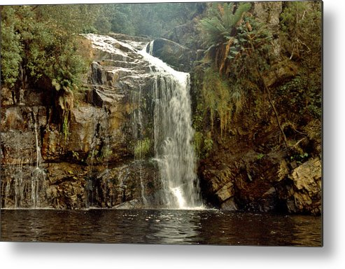 Waterfalls Metal Print featuring the photograph Forth Falls Tasmania by Sarah King