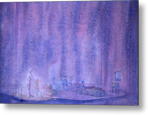 Scenery Metal Print featuring the painting Glass Menagerie by Terrell Gates