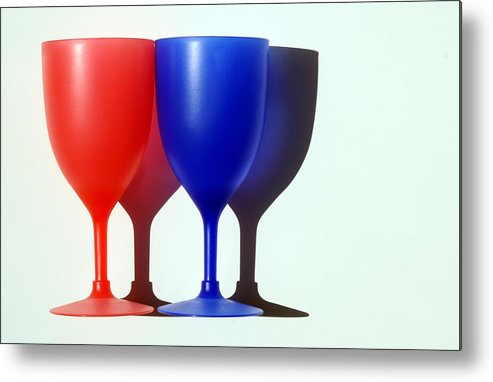 Photo Metal Print featuring the photograph Goblets by Dan Holm