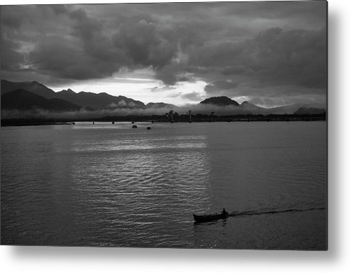 Boat Metal Print featuring the photograph Going Home by James Conway