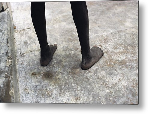 Feet Metal Print featuring the photograph Lamu Feet by Marcus Best