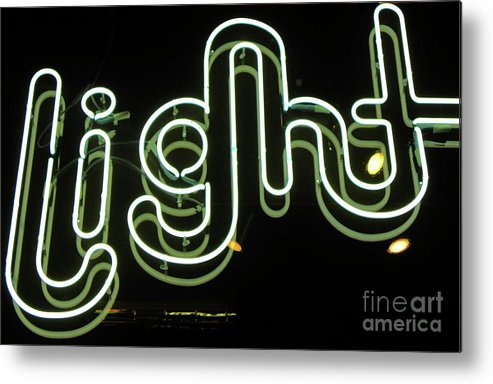 Light Metal Print featuring the photograph Let There Be Light by Elizabeth Hoskinson