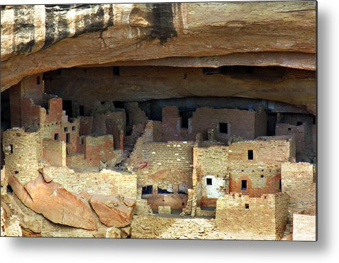 Americana Metal Print featuring the photograph Mesa Verde by Marilyn Hunt