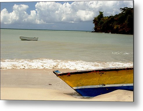 Boat Metal Print featuring the photograph Morne Rouge Boats by Jean Macaluso