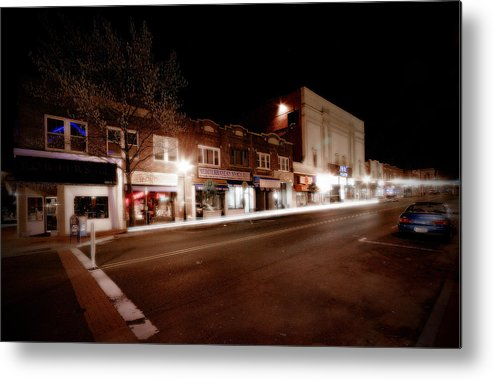 Huntington Metal Print featuring the photograph New York Ave South by Michael Simeone
