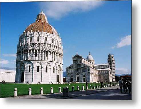 Italy Metal Print featuring the photograph Pisa by Kathy Schumann