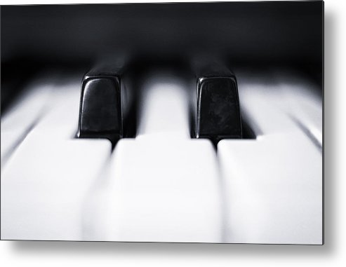 Piano Metal Print featuring the photograph Sharp Or Flat by Scott Norris