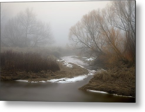 Palouse Metal Print featuring the photograph Silver Creek In Elberton by Jerry McCollum