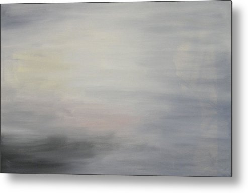 Clouds Sky Metal Print featuring the painting Special Clouds by Harris Gulko