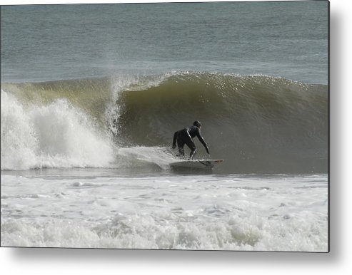 Surfer Art Metal Print featuring the photograph Surfing 113 by Joyce StJames