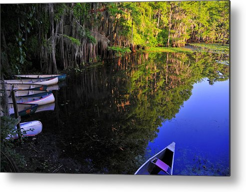 Skip Hunt Metal Print featuring the photograph The Black Lagoon by Skip Hunt