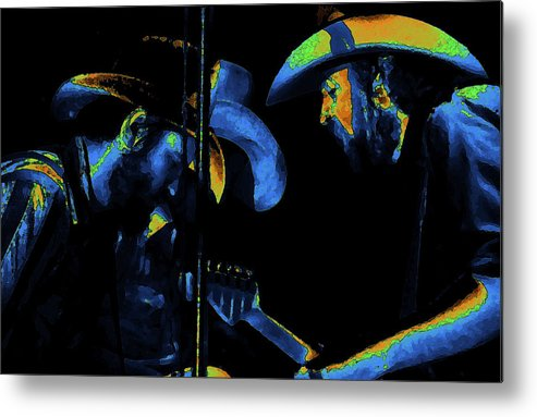 Marshall Tucker Band Metal Print featuring the photograph Toy And Tommy And George by Ben Upham
