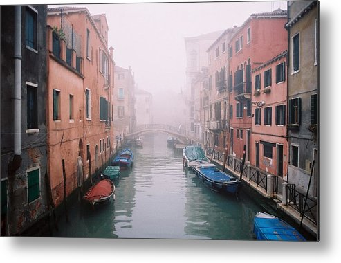 Venice Metal Print featuring the photograph Venice Canal I by Kathy Schumann
