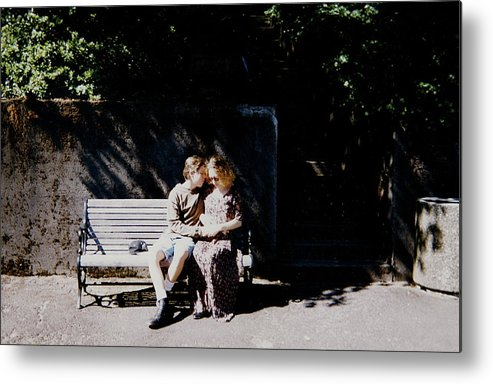 Couples Metal Print featuring the photograph Young Love by Claire McGee