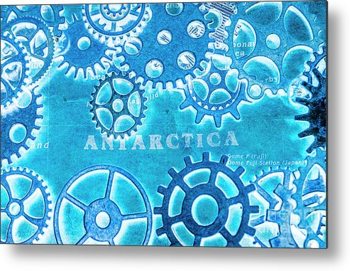 Antarctica Metal Print featuring the photograph Ancient Antarctic Technology by Jorgo Photography - Wall Art Gallery
