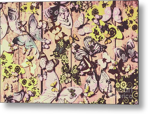 Butterfly Metal Print featuring the photograph Flight Patterns by Jorgo Photography - Wall Art Gallery