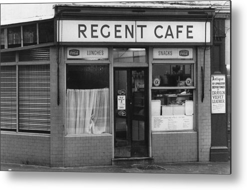 England Metal Print featuring the photograph The Regent Cafe by Evening Standard