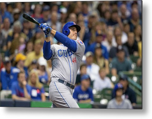 People Metal Print featuring the photograph Anthony Rizzo by Tom Lynn