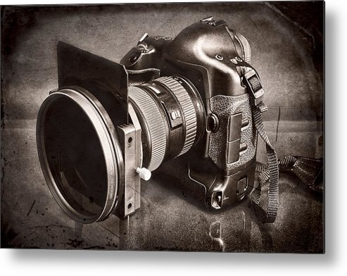 Fineart Metal Print featuring the photograph A Trusted Partner by Jeff Burton