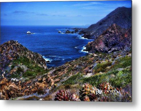 Baja Metal Print featuring the photograph Baja Coast by Hugh Smith