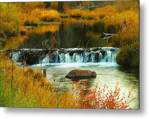 Water Metal Print featuring the photograph Waters Of Solace by Jeff Swan
