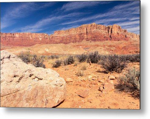 Arizona Metal Print featuring the photograph Big Rocks Little Rocks by Jim Baker