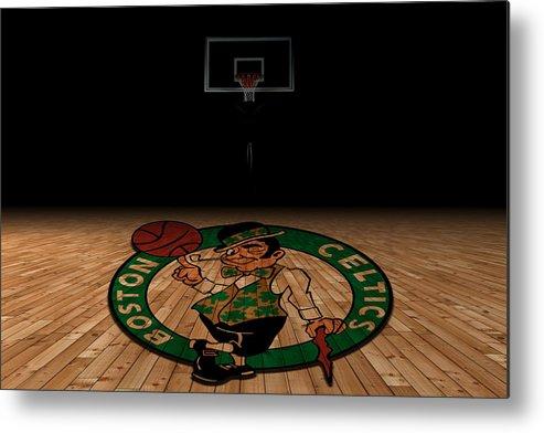 Celtics Metal Print featuring the photograph Boston Celtics by Joe Hamilton