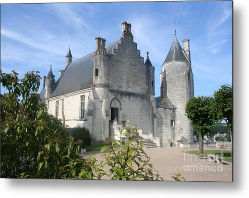 Castle Metal Print featuring the photograph Castle Loches - France by Christiane Schulze Art And Photography