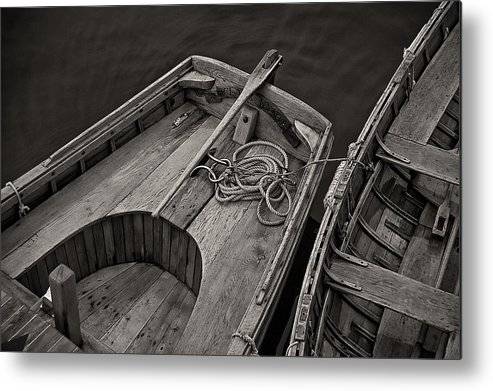 Row Boats Metal Print featuring the photograph Clark Kent by Fred LeBlanc