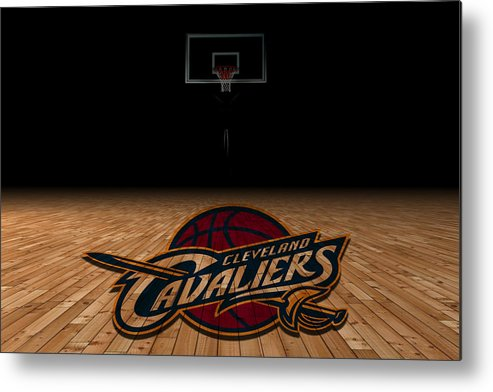 Cavaliers Metal Print featuring the photograph Cleveland Cavaliers by Joe Hamilton