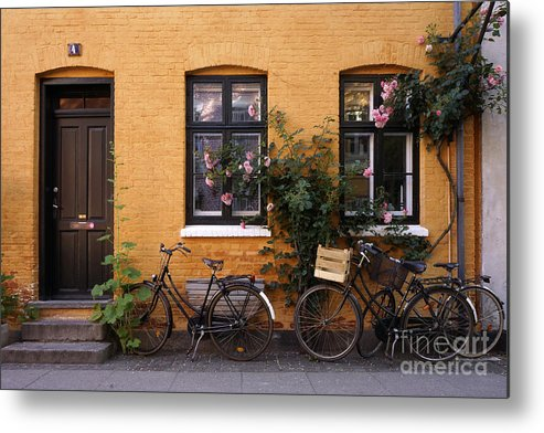 House Metal Print featuring the photograph Danish Idyl by Inge Riis McDonald