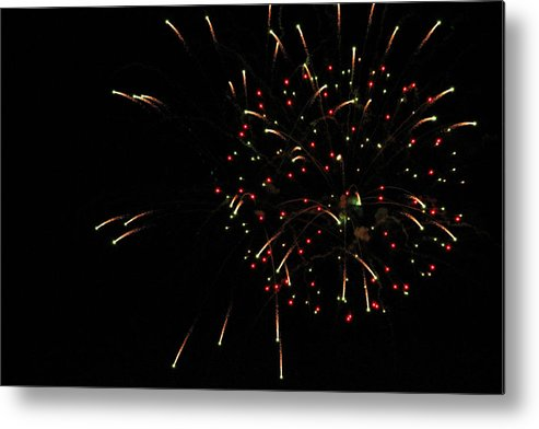 Fire Metal Print featuring the photograph Fireworks by Becca Buecher