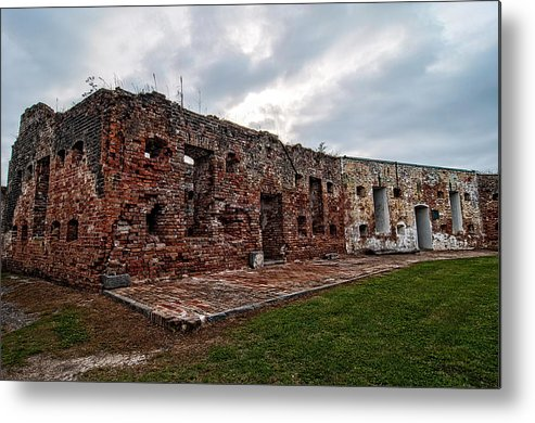 1800s Metal Print featuring the photograph Fort Pike by Andy Crawford