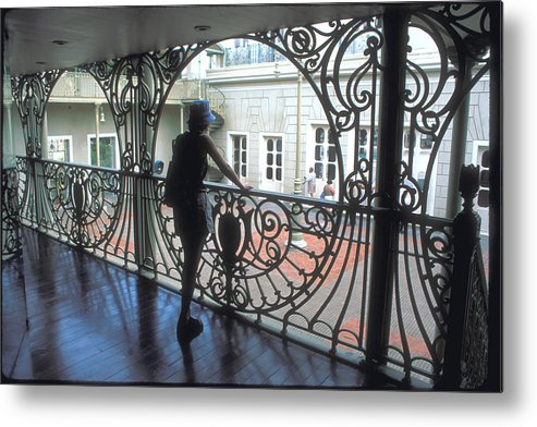 Silhouette Metal Print featuring the photograph Fortaleza Opera House by Carl Purcell