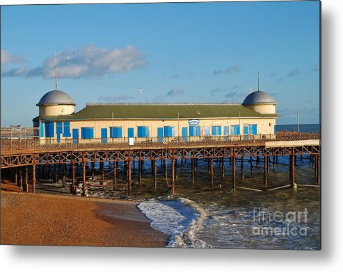 Pier Metal Print featuring the photograph Hastings Pier by David Fowler