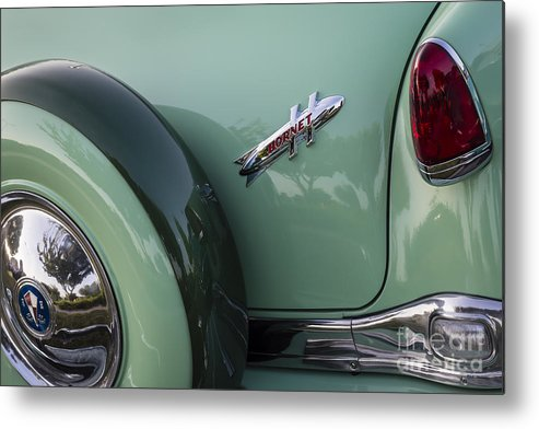 1954 Hudson Metal Print featuring the photograph Hudson Hornet by Dennis Hedberg