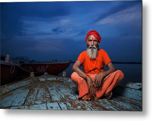 Documentary Metal Print featuring the photograph Journey Of Life by Fadhel Almutaghawi