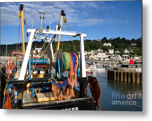 New-seeker Metal Print featuring the photograph New Seeker At Lyme Regis by Susie Peek
