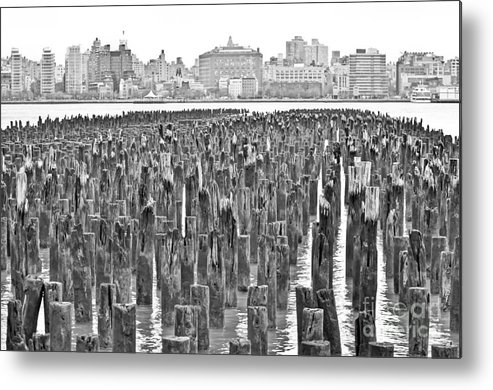 2014 Metal Print featuring the photograph Old Piers by PatriZio M Busnel