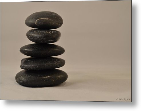 Rocks Metal Print featuring the photograph Peace by Paulina Roybal