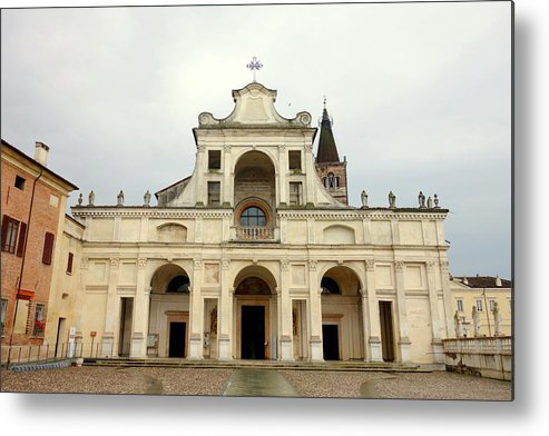 Abbey Metal Print featuring the photograph Polirone Abbey by Valentino Visentini
