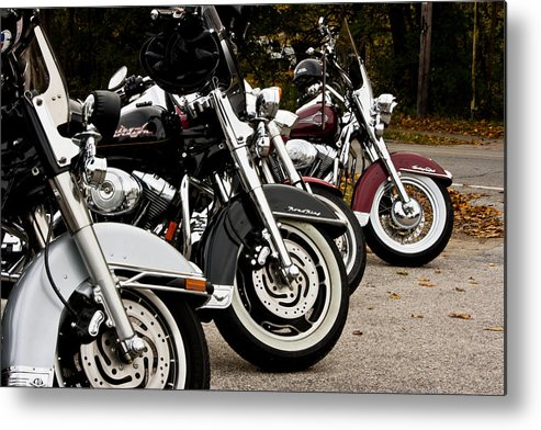 Transportation Metal Print featuring the photograph Ready To Ride by Dennis Coates