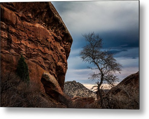 Colorado Metal Print featuring the photograph Red Rocks 2 by Karen Saunders