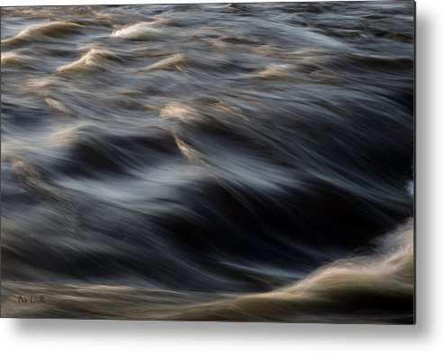 Water Metal Print featuring the photograph River Flow by Bob Orsillo