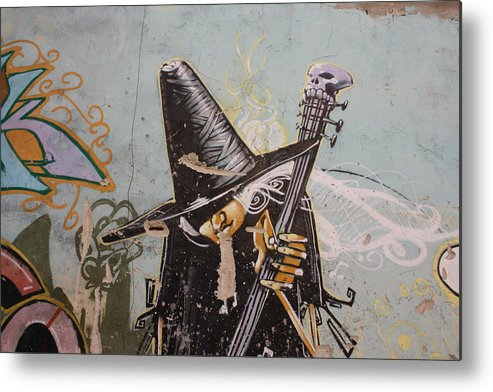 Whitch Metal Print featuring the photograph Rocking Witch by Jan Katuin
