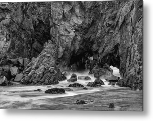 Rocky Surf Metal Print featuring the photograph Rocky Surf 2 by George Buxbaum