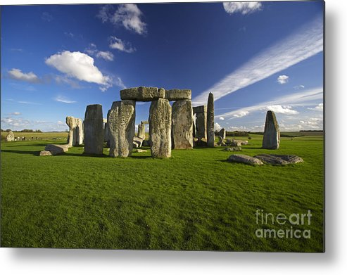 Stonehenge Metal Print featuring the photograph Stonehenge by Premierlight Images