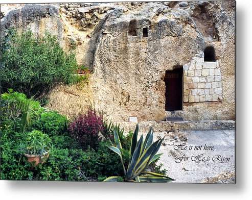 Israel Metal Print featuring the photograph The Empty Tomb by Thomas R Fletcher