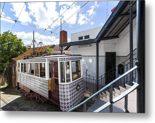Baixa Metal Print featuring the photograph The Lavra Funicular by Andre Goncalves