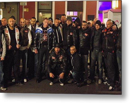 Thirty Bandidos Defect To Hells Angels In Krefeld Metal Print